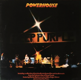 Deep Purple ‎- Powerhouse (LP) (VG-EX/VG+)
